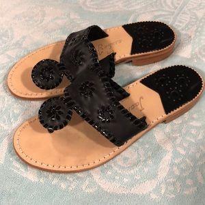 Jack Rogers Flip Flop - 5.5 Black